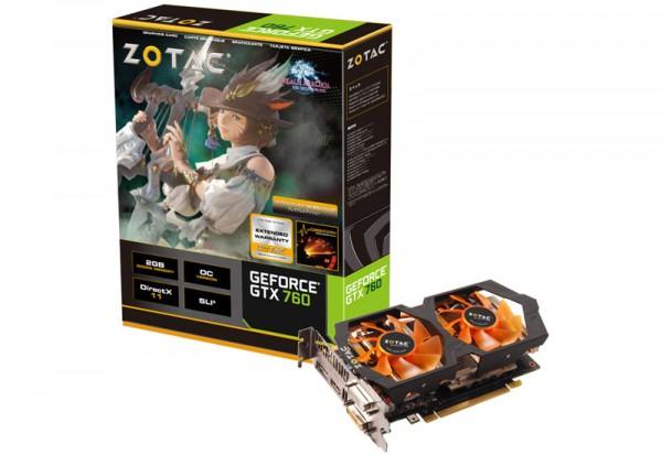 Zotac GeForce GTX 760 TwinCooler FF14