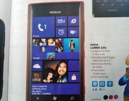 Смартфон Nokia Lumia 505