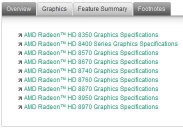 AMD Radeon HD 8000 OEM