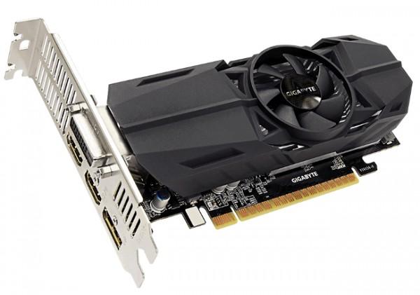 Gigabyte, GeForce GTX 1050, OC Low Profile 2G
