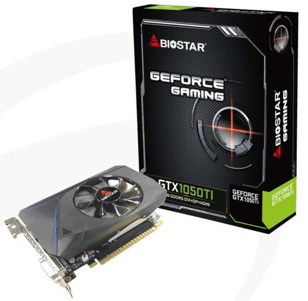 Biostar GeForce GTX 1050 Ti