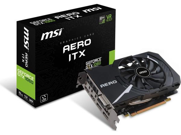 MSI GTX 1060 AERO ITX Series
