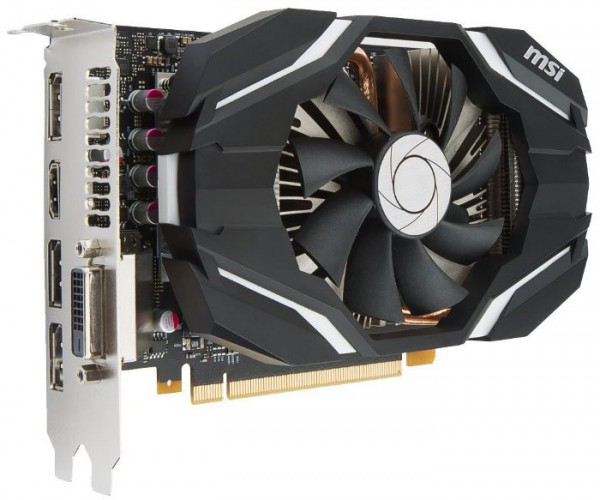 MSI GeForce GTX 1060 6G OC Armor