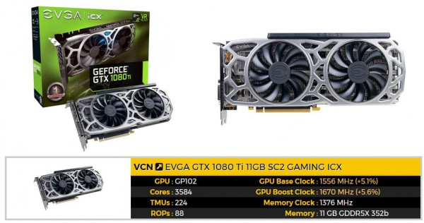 GeForce GTX 1080 Ti SC2 GAMING ICX