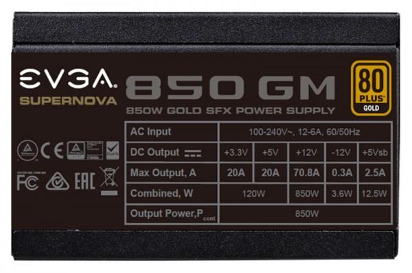 EVGA SuperNOVA 850 GM