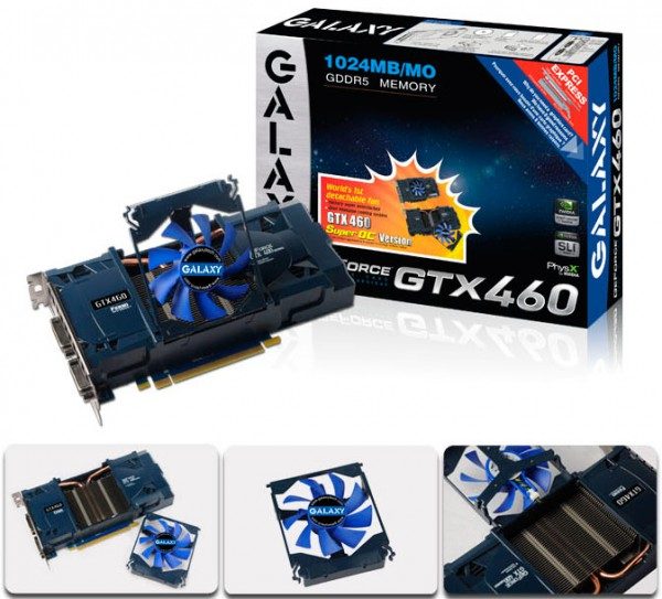 Galaxy GTX460 super OC version
