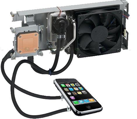 Охлаждение для смартфона