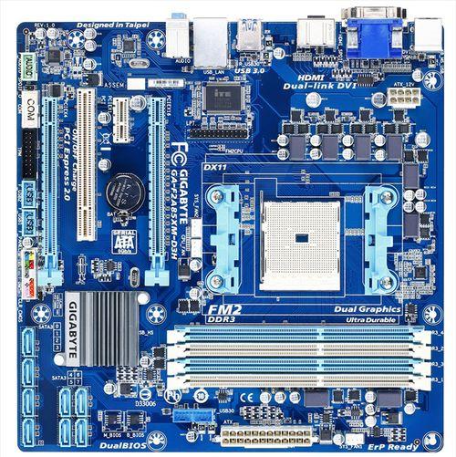 Системная плата Gigabyte F2A85XM-D3H