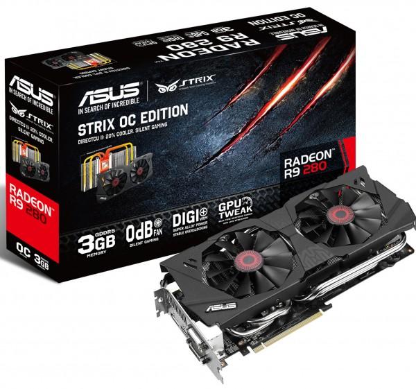 ASUS Radeon R9 280 Strix