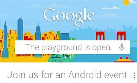 Приглашение на Android-презентацию Google