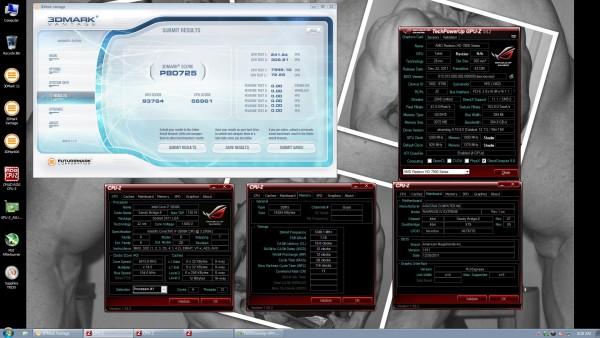 Разгон четырёх видеокарт Radeon HD 7970