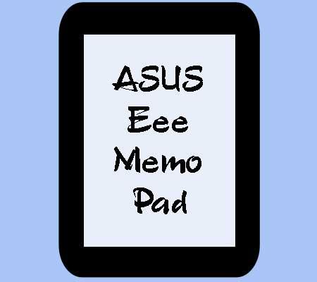 Планшет ASUS MeMO Pad