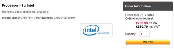 Core i7-3960X Extreme Edition и Core i7-3930K