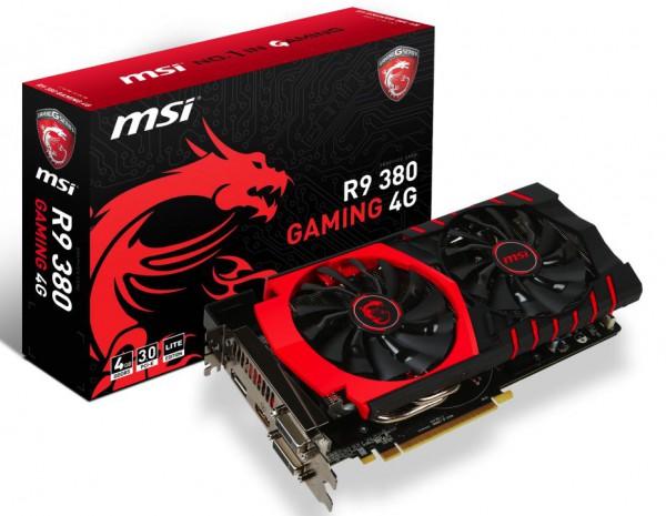 MSI Radeon R9 380 GAMING LE 4G