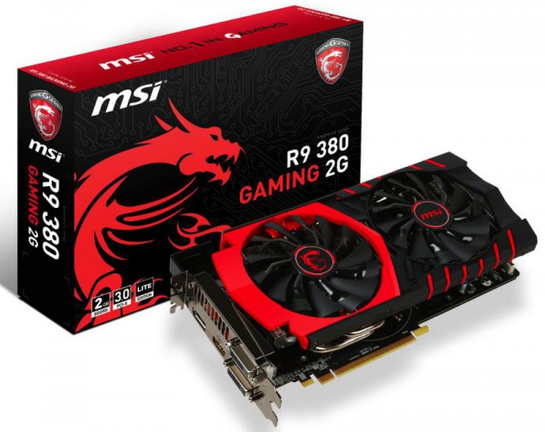 MSI Radeon 380 GAMING 2G LE