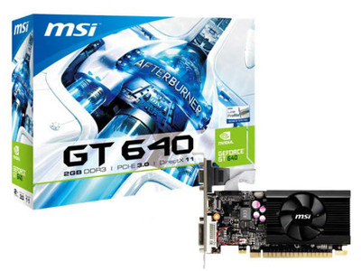 Видеокарта MSI GeForce GT 640