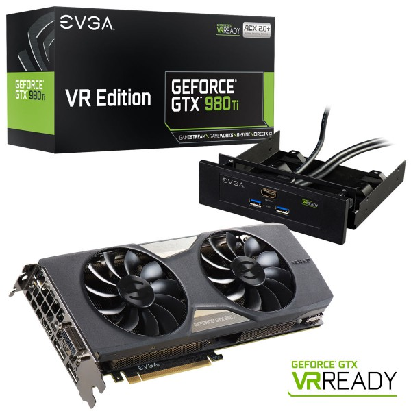 EVGA GeForce GTX 980 Ti VR Edition ACX 2.0+