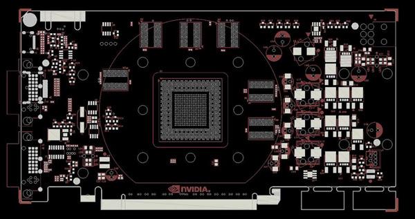Дизайн печатной платы видеокарты Geforce GTS 450