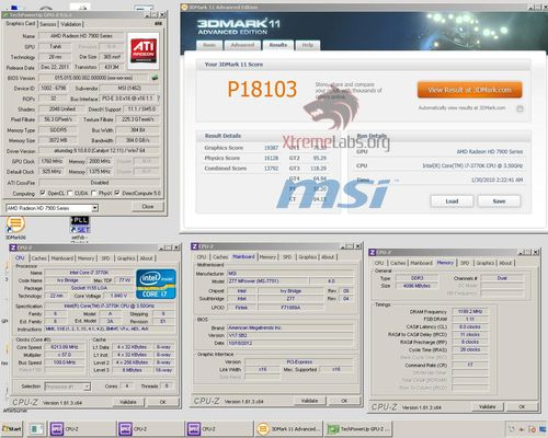 Видеокарта Radeon HD 7970 рекорд