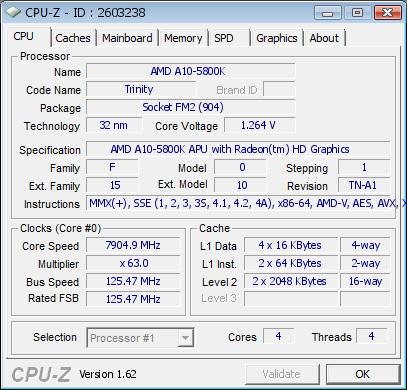 Процессор A10-5800K