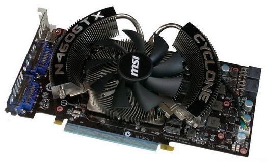 MSI GeForce GTX 460 Cyclone OC