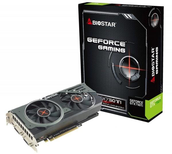 Biostar GeForce GTX 750 Ti (VR75T5XUX1 GAMINGOC)
