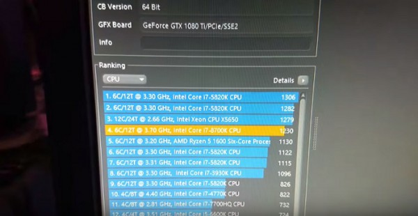 Core i7-8700K