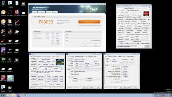 3DMark11 (Performance) 4х GPU