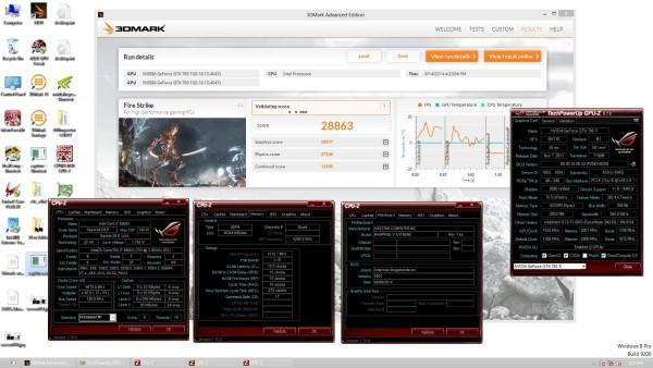 3DMark-Fire Strike 2х GPU