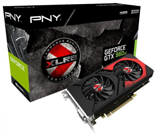 PNY GeForce GTX 960 2 GB4 GB XLR8 OC GAMING