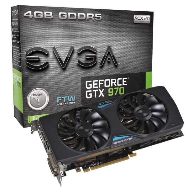 EVGA GeForce GTX 970 Superclocked ACX 2.0