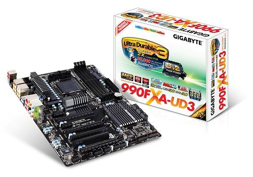 Gigabyte 990FXA-UD3 rev 1.2