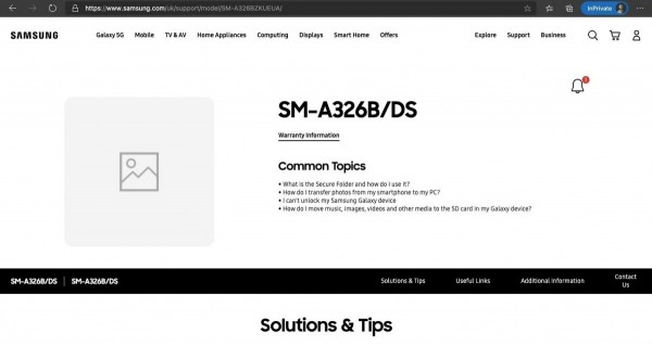 Samsung Galaxy A32 5G SM-A326BDS
