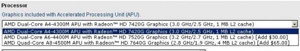 AMD A4-4300M Trinity