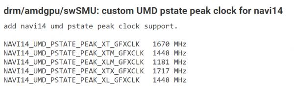 Navi 14, AMD, Navi 14 XTX, Navi 14 XL, Navi 14 XLM, Navi 14 XT
