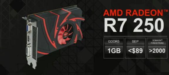 Radeon R7 250 и R7 240