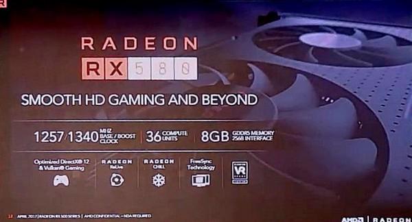 Radeon RX 580