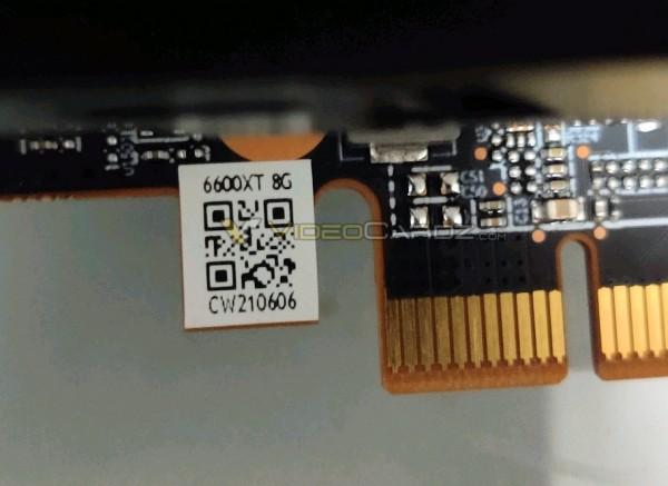 В Сети появились фотографии и результаты тестов видеокарты AMD Radeon RX 6600 XT