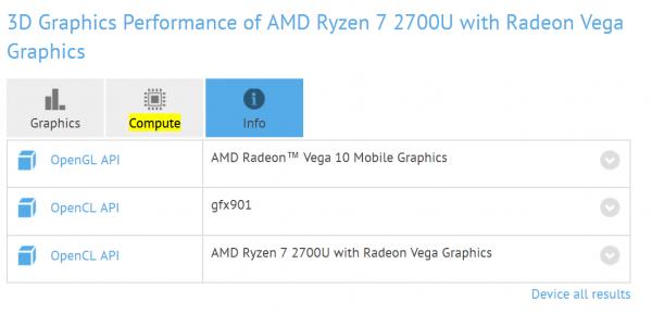 Radeon Vega 8 Mobile, Radeon Vega 10 Mobile