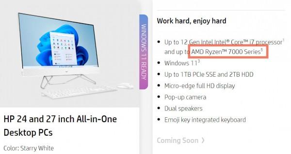 AMD Ryzen 7000