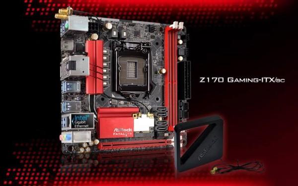 ASRock Z170 Gaming-ITXac