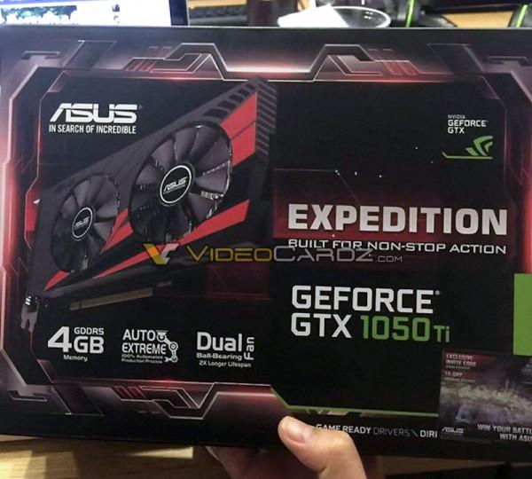 ASUS GeForce GTX 1050 Ti Expedition