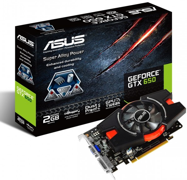 ASUS GeForce GTX 650-E