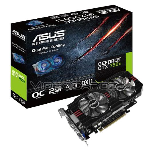 ASUS GeForce GTX 750 Ti (GTX750TI-OC-2GD5)