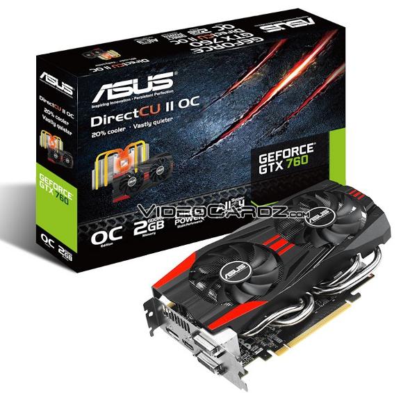 ASUS GeForce GTX 760 (GTX760-DC2OC-2GD5)