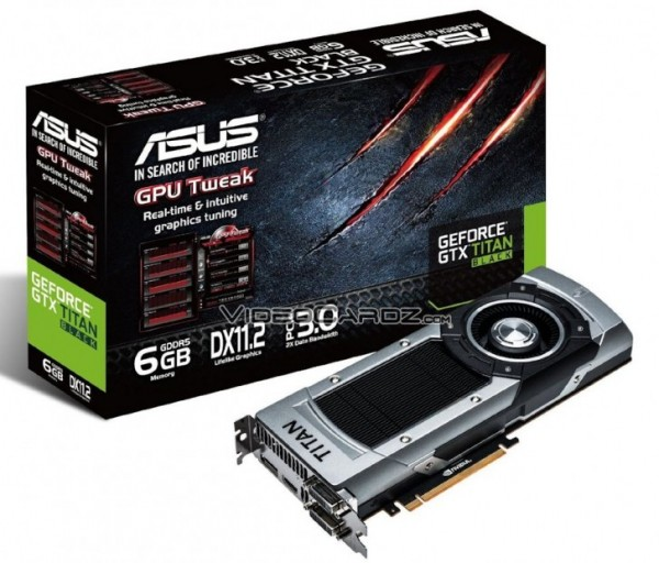ASUS GeForce GTX TITAN Black Edition