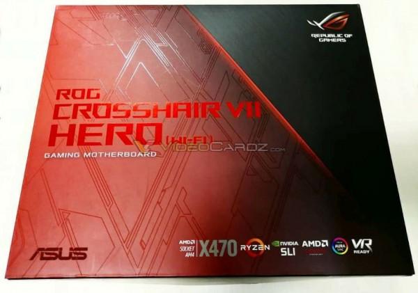 ASUS ROG X470 Crosshair Hero VII