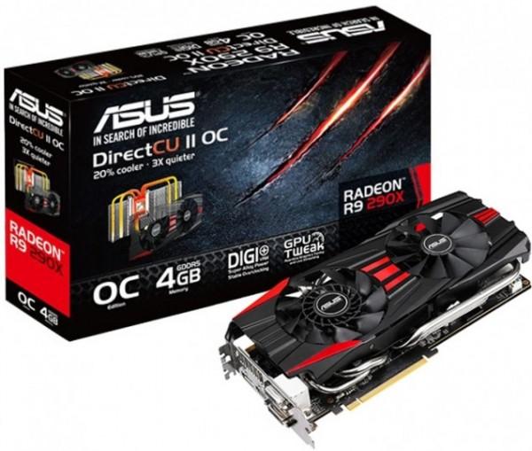 ASUS Radeon R9 290X DirectCU II OC