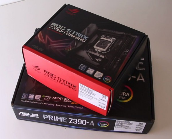ASUS ROG STRIX Z390-I Gaming, ASUS Z390-A PRIME
