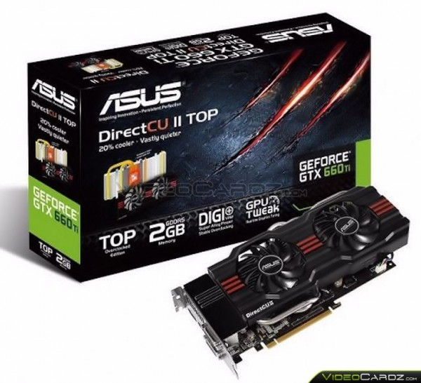 ASUS GeForce GTX 660Ti DirectCU II TOP
